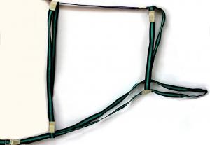 Шлея капроновая двойная 2,5 см