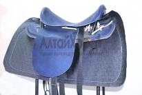 Седло кавалерийское синее с потником