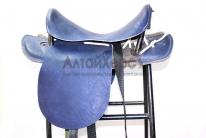 Седло кавалерийское синее без потника