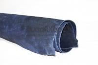 Юфть ш/с в чепраках синяя