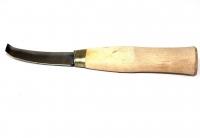 Нож копытный двусторонний прямой