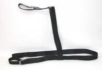 Шлейка для седла комбинированая кожа-капрон широкая
